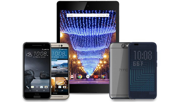 HTC holiday deals