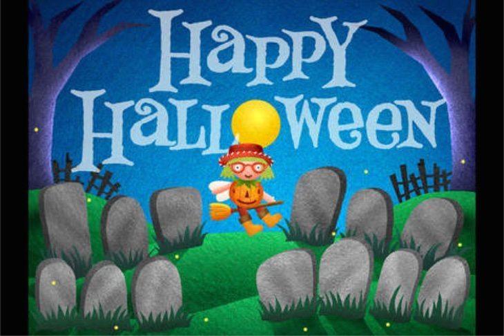 Halloween kids apps for iPhone c