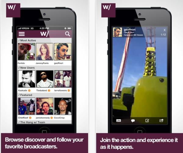 Hang W for android video app finally released