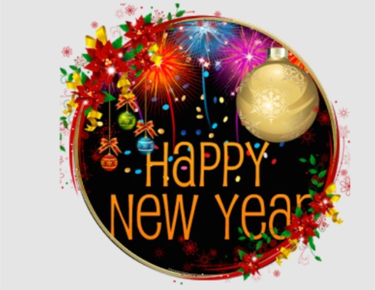 Happy New Year photo frames and wallpaper Android apps