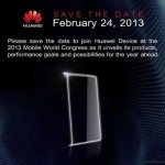 Huawei Ascend P2 & Mini possibly at MWC 2013