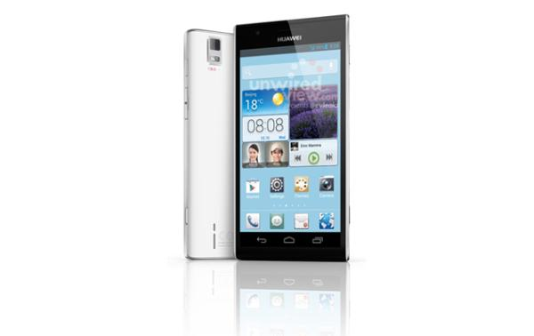 Huawei Ascend P2 key specifications and good looks
