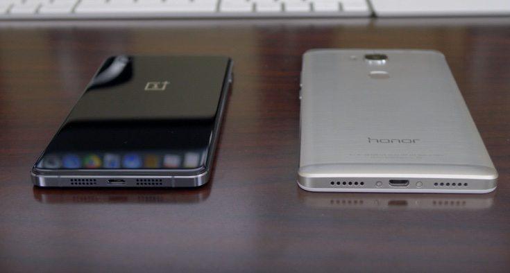 Huawei Honor 5X vs OnePlus X