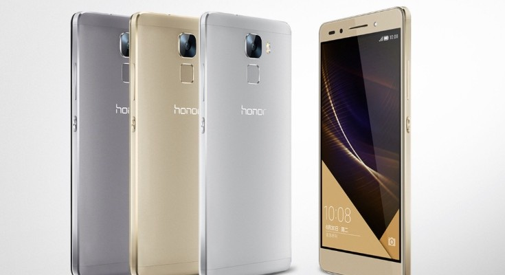 Huawei Honor 7 prices at launch