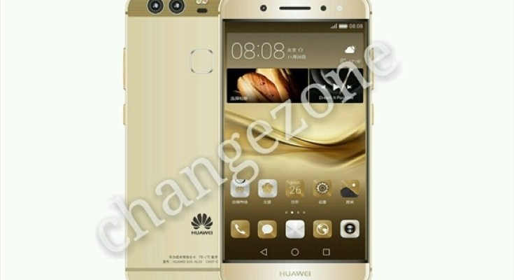 Huawei P9 claimed press renders show design
