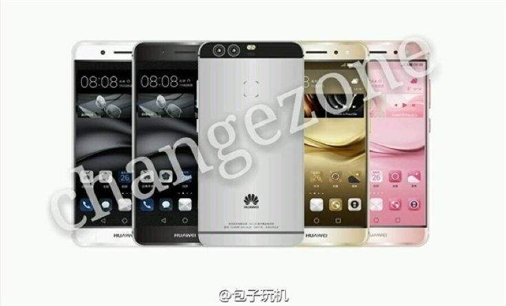 Huawei P9 claimed press renders