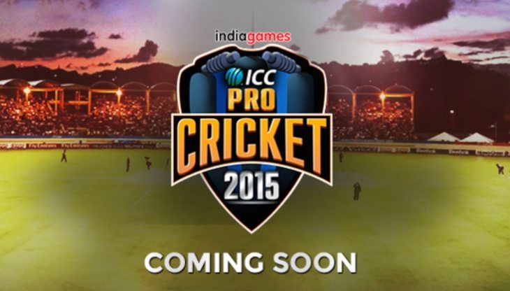 ICC Pro Cricket 2015 app launch for official World Cup game
