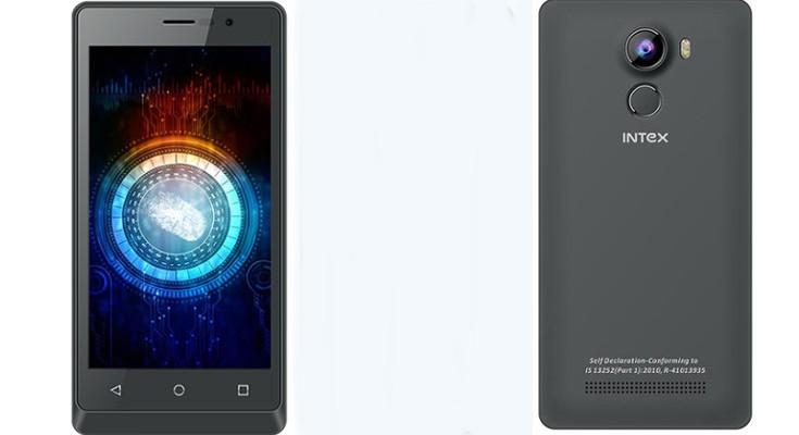 Intex Aqua Secure set to debut with Fingerprint Sensor and 4G LTE