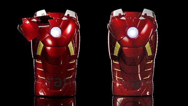 Iron Man 3 celebration with superhero iPhone 5 case