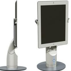KUBI telepresence robot tablet stand perfect for iPad