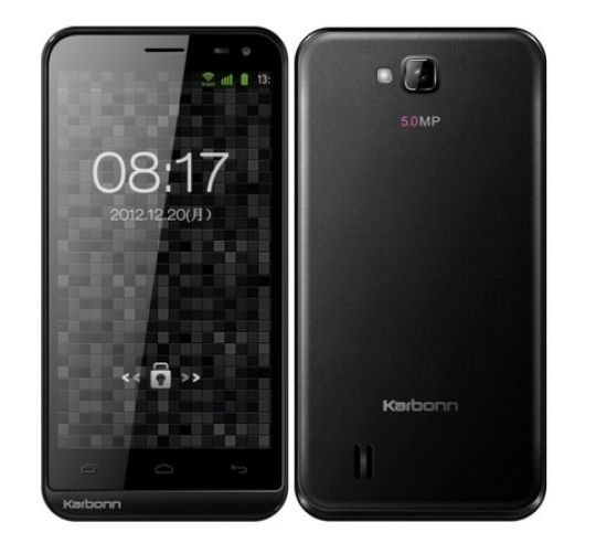 Karbonn Smart A12 dual SIM Android smartphone for India