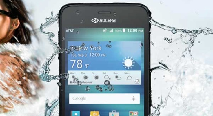 Kyocera Hydro Air compromises on specs for ruggedness