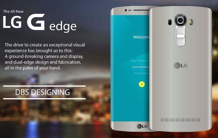 LG G Edge design and specs b