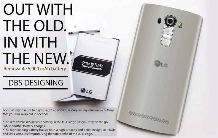 LG G-Edge design and specs d