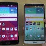 LG G Flex 2 vs LG G3 vs iPhone 6