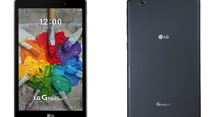 LG G Pad III 8.0 is official with Android 6.0 and 8-inch display