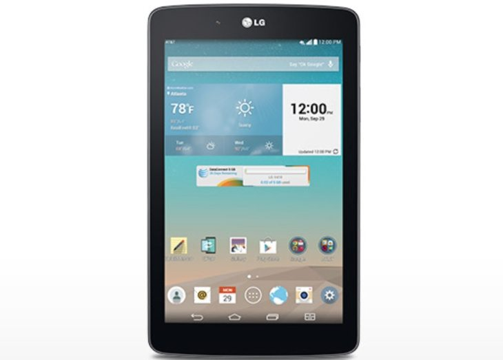 LG G Pad 7.0 LTE release on AT&T with pricing