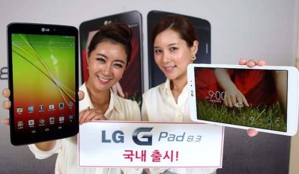 LG G Pad 8.3 release date for Korea, then globally
