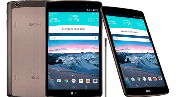 LG G Pad II 8.3 LTE official launch gives specs