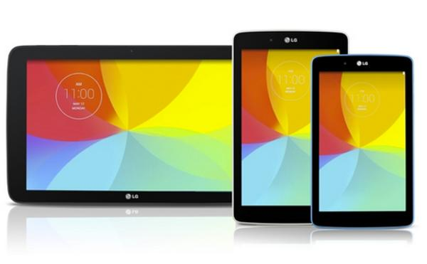 LG G Pad series expanded