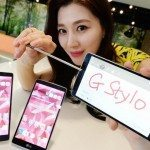 LG G Stylo with built-in stylus