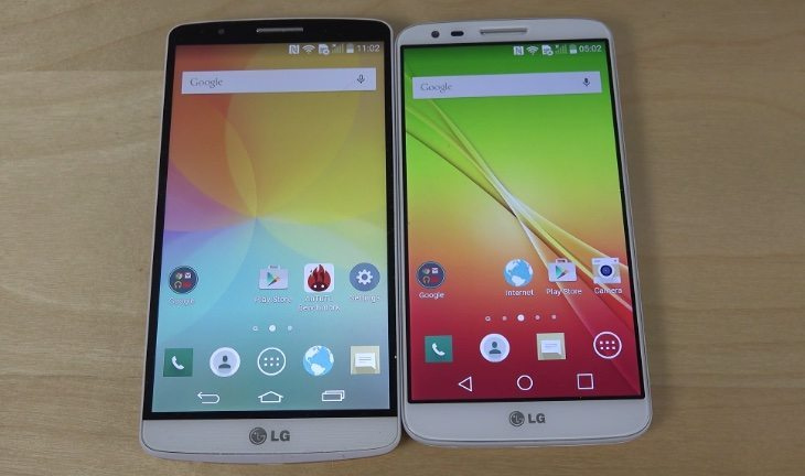 LG G3 Android 5.0 vs LG G2 Android 5.0.2