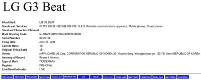 Trademark filings reveal possible LG G3 variants