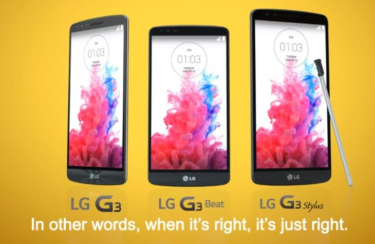 LG G3 Stylus rumored to be a Budget Phablet sans QHD display