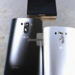 LG G3 image shows design of rear cover