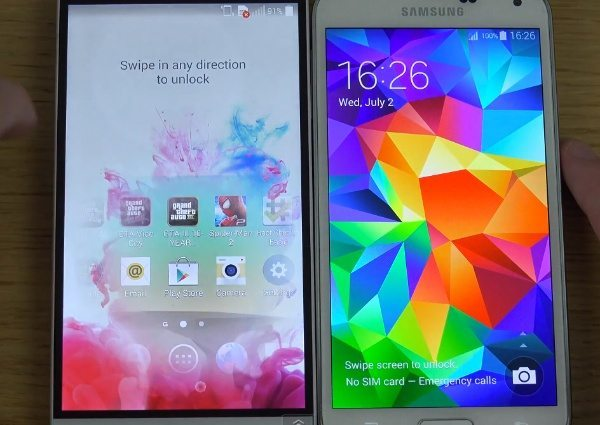 LG G3 vs Galaxy S5 vs iPhone 5S boot up speeds tested