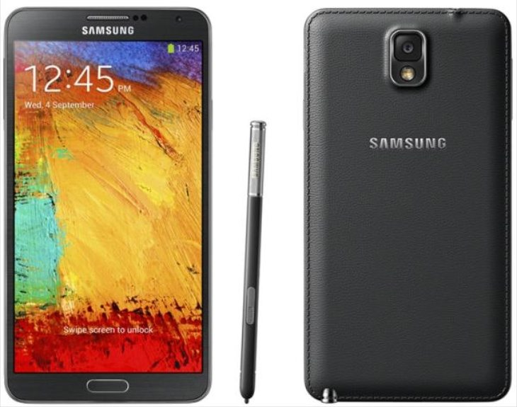 LG G3 vs Samsung Galaxy Note 3 b