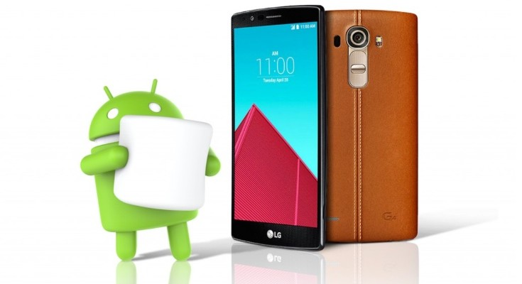 LG G4 Android Marshmallow update