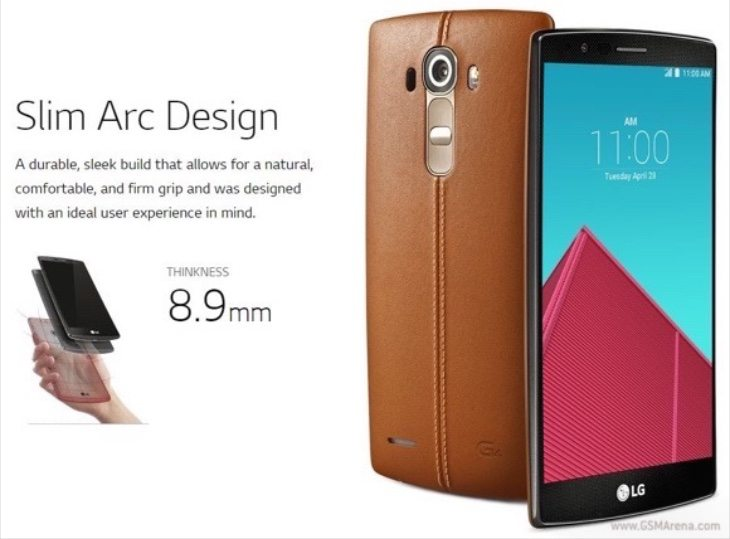LG G4 official images b