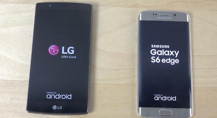 LG G4 vs Galaxy S6 Edge vs HTC One M9 test