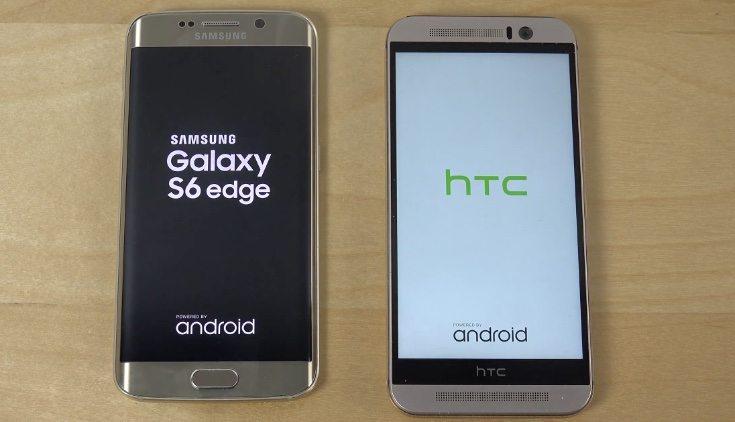 LG G4 vs Galaxy S6 Edge vs HTC One M9 test b