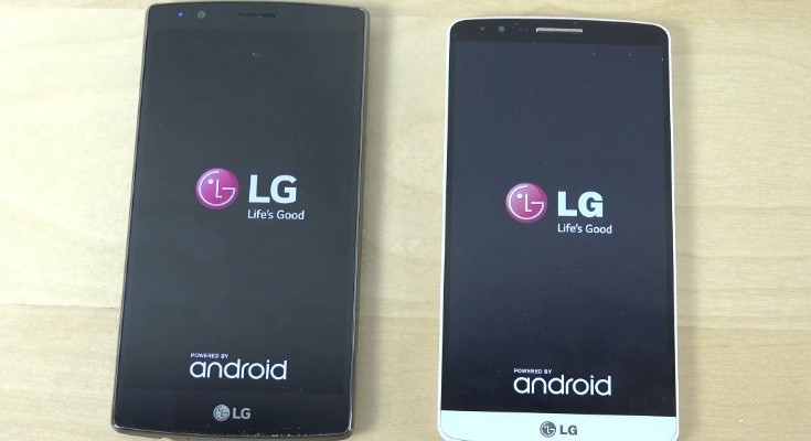LG G4 vs LG G3 vs G Flex 2 bootups compared
