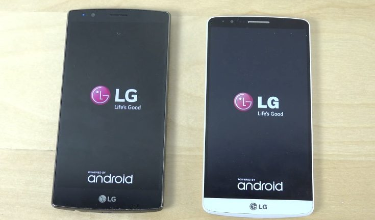 LG G4 vs LG G3 vs G Flex 2 bootups compared - PhonesReviews