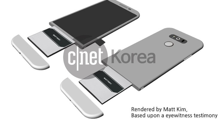 New LG G5 renders show interesting design with removable battery