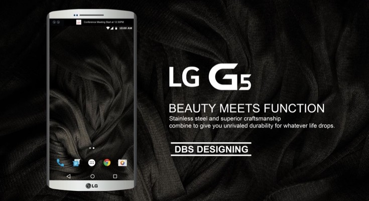 LG G5 concept adds future specs and Android 6.1