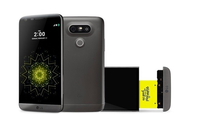 LG G5 T-Mobile offers include 360 CAM and Battery Bundle