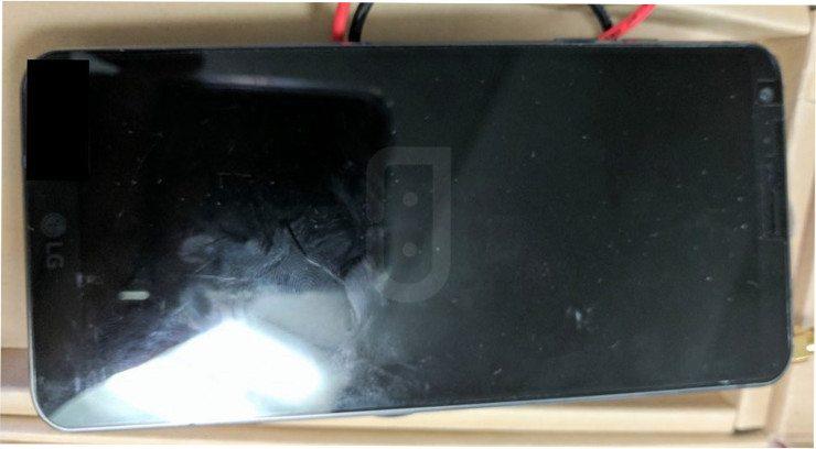 Alleged LG G6 prototype shows smaller bezels, USB-C