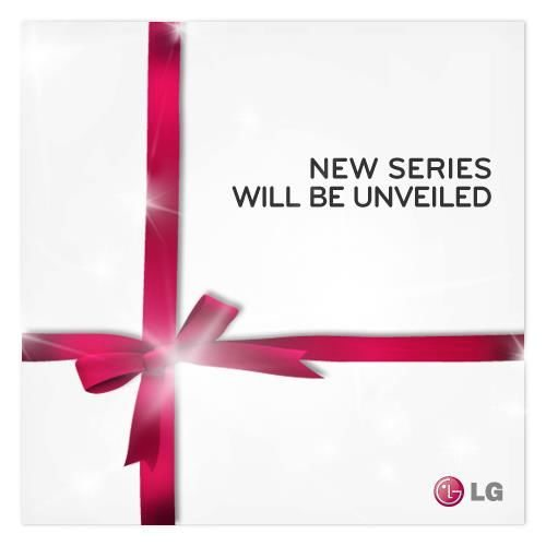 LG New Series unveiling with mystery unexpected distinction