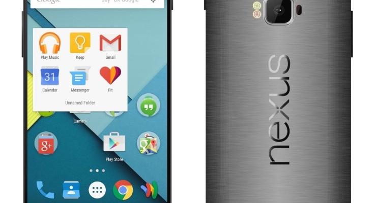 LG Nexus 2015 design