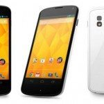 LG Nexus 4 white tomorrow but no 32GB or LTE