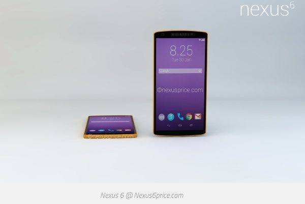 LG Nexus 6 design and specs vision