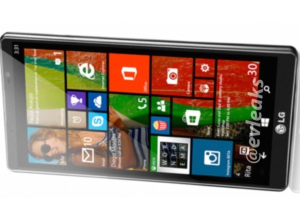LG Uni8 Windows Phone handset in image leak