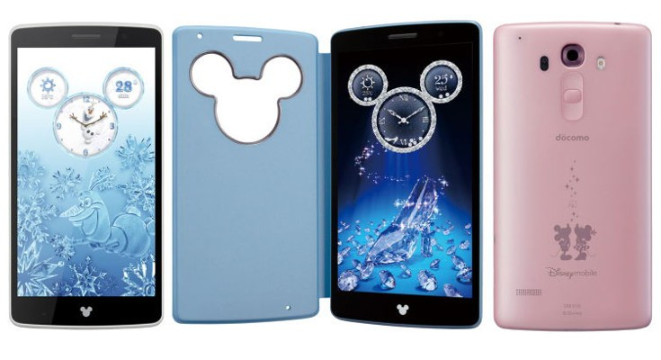 LG Disney Phone SD801 announced for Japan