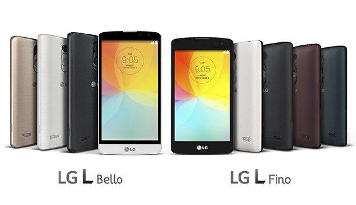 LG L Bello LG L Fino