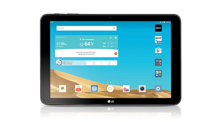 LG G Pad X 10.1 will hit AT&T on September 4th for $249.99