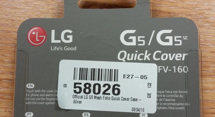 LG G5 SE breaks cover as LG G5 variant